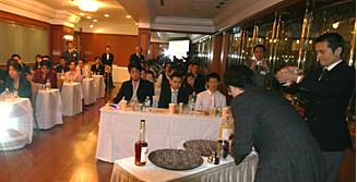 「カルヴァドス」セミナー試飲カクテル「ゴールデン・アップル」