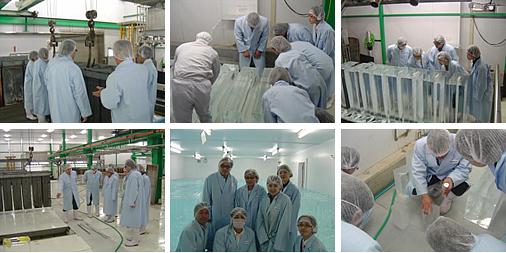 平成21年10月25日製氷工場見学