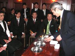 田中利明氏(P.B.O.運営委員・カエサリオン)によるセミナー